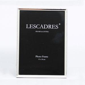 Leenarts 13x18 cm parel smal fotolijst silverplated 304.01.13