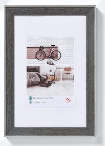 Walther Bohemian fotolijst 13x18 cm grijs