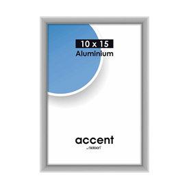 Nielsen Fotolijst aluminium Accent Mat Zilver 10x15 cm 51224
