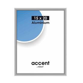 Nielsen Fotolijst aluminium Accent Mat Zilver 15x20 cm 51324
