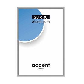 Nielsen Fotolijst aluminium Accent Mat Zilver 20x30 cm
