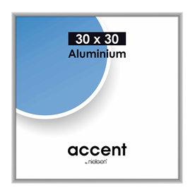 Nielsen Fotolijst aluminium Accent Mat Zilver 30x30 cm