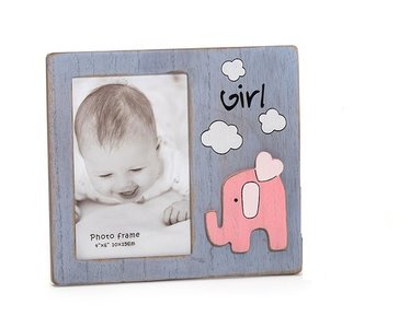 KPH Baby Olifant fotolijst roze