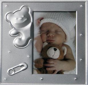 Henzo fotolijst Baby Moments beer/speld
